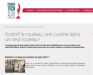 revue de presse rodol'f - french tech