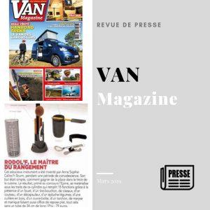 article rodol'f revue van magazine