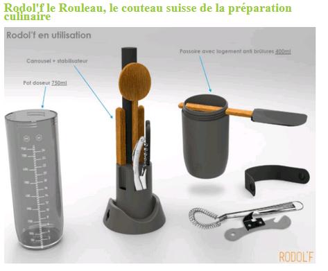 image article blog coté cuisine pour rodol'f le rouleau