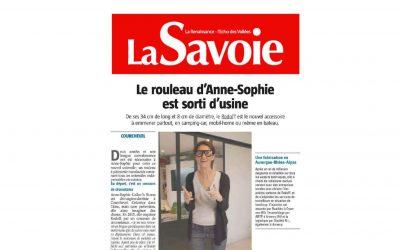 La Savoie : Le Rouleau d'Anne-Sophie est sorti d'usine