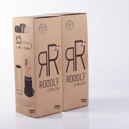 pack 2 rodol'f rouleau multifonction cuisine avec manique offerte