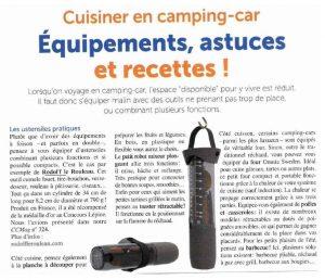 article camping car magazine sur rodol'f le rouleau malin
