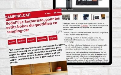 Rodol'f Le Secouriste, pour les petits bobos du quotidien en camping-car